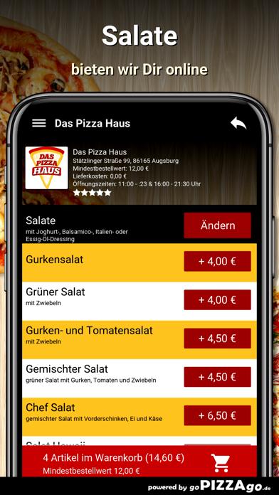 Das Pizza Haus Augsburg screenshot 5