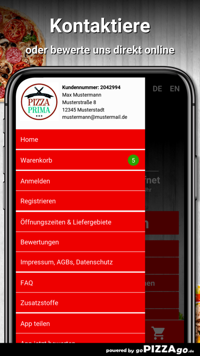 Pizza Prima Dielheim screenshot 3