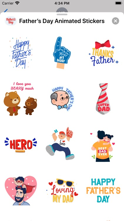 Father's Day Animated Stickers screenshot-3
