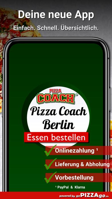 Pizza-Coach Berlin screenshot 1