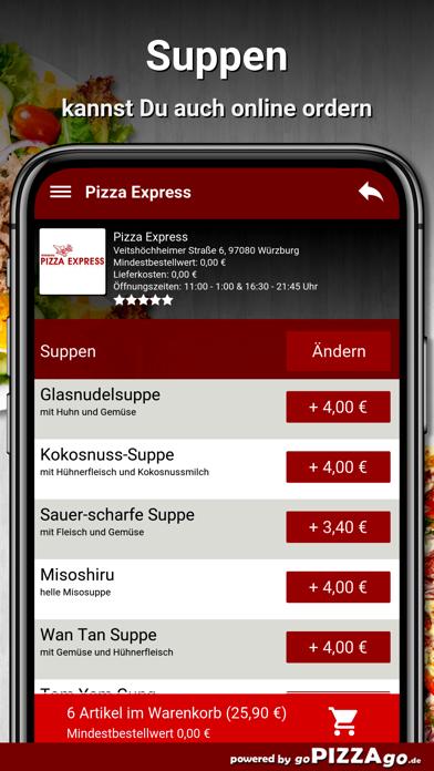 Pizza-Express Würzburg screenshot 5