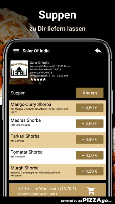 Salar Of India Berlin screenshot 5