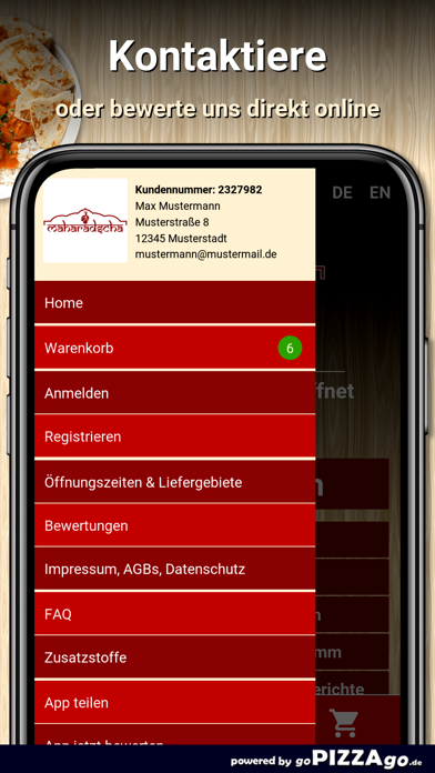 Maharadscha Leipzig screenshot 3