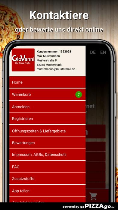 Giovanni Bringdienst Hannover screenshot 3
