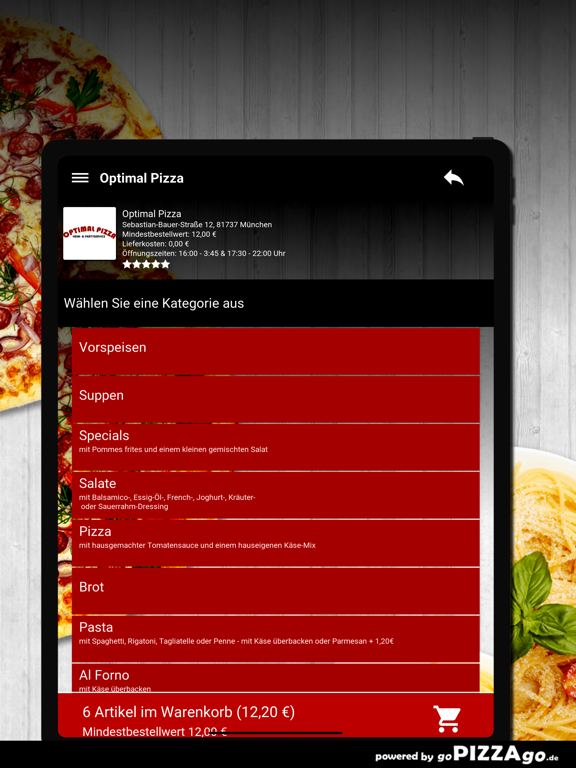 Optimal Pizza München screenshot 8