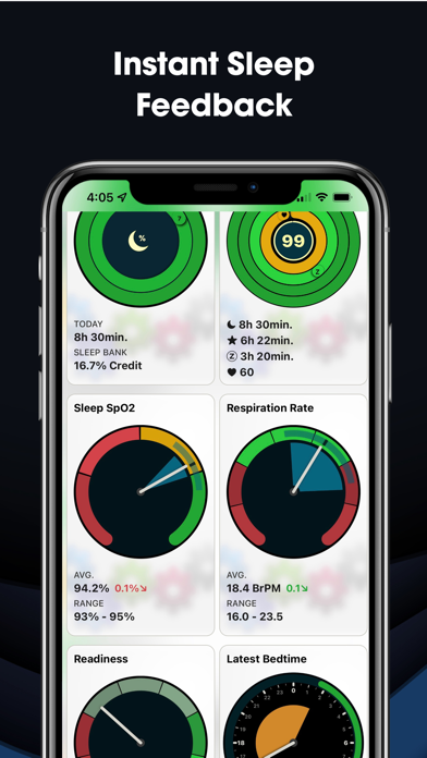 AutoSleep Track Sleep on Watch Screenshots