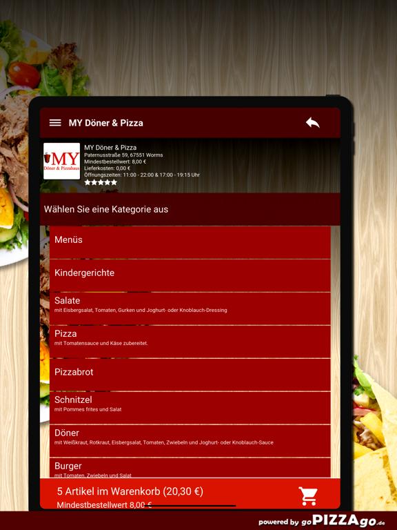 MY Döner & Pizza Worms screenshot 8
