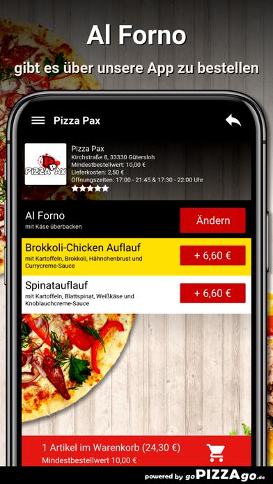 Pizza Pax Gütersloh screenshot 6
