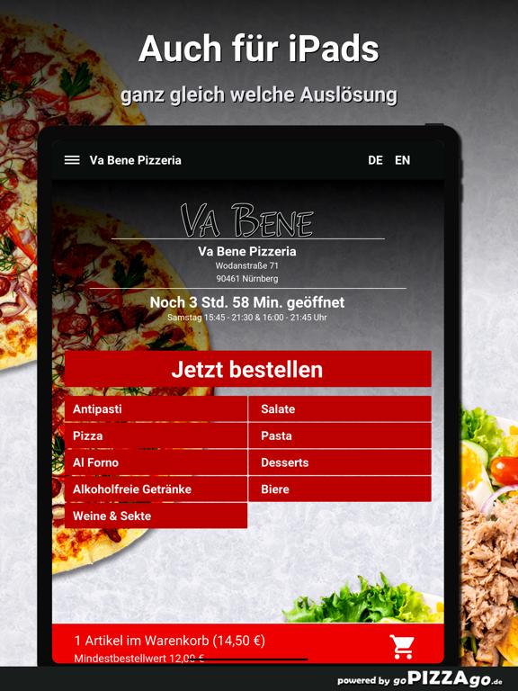 Va Bene Pizzeria Nürnberg screenshot 7