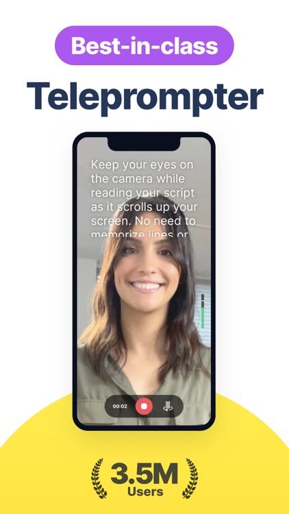 Video teleprompter & captions screenshot-0