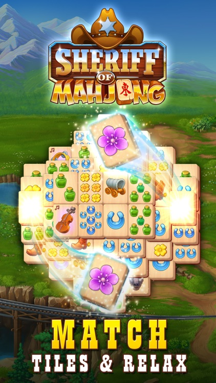 Sheriff of Mahjong: Tile Match screenshot-0