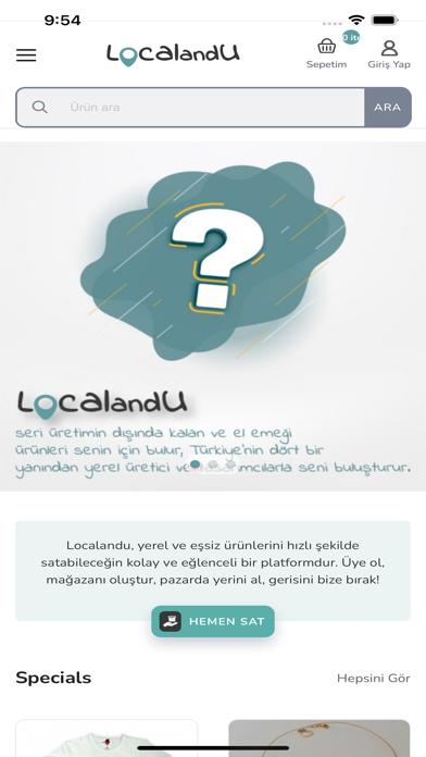 Localandu screenshot 1