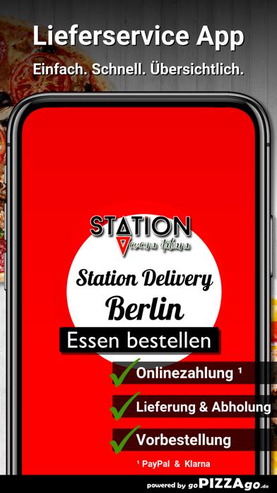 Station Delivery Berlin screenshot 1