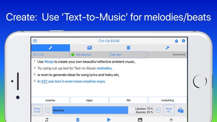 Wotja Pro 21: Generative Music screenshot-4