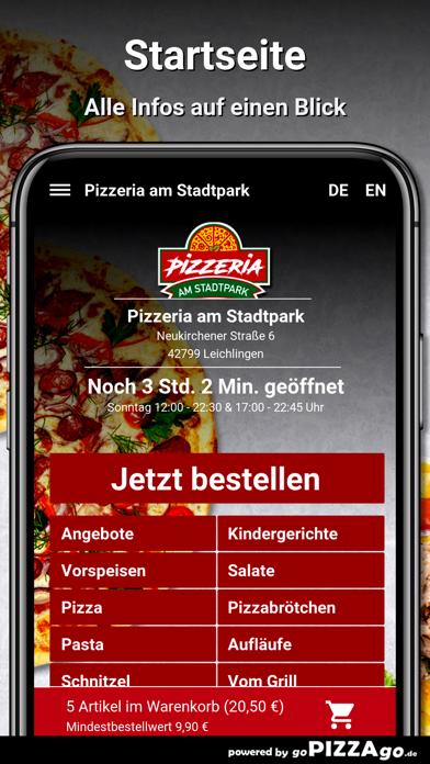 Pizzeria Stadtpark Leichlingen screenshot 2