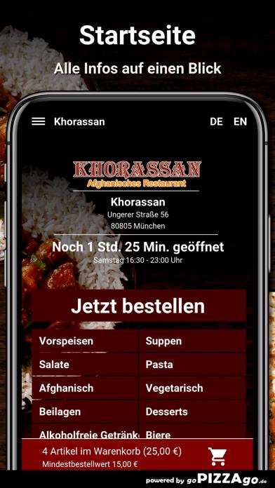 Khorassan München screenshot 2