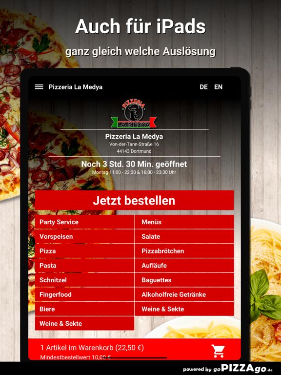 Pizzeria La Medya Dortmund screenshot 7