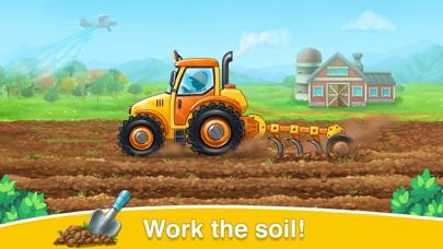 ファームゲームトラクターの収穫紹介画像2