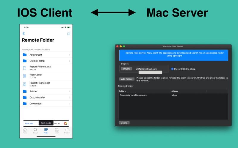 Remote Files Server Screenshot