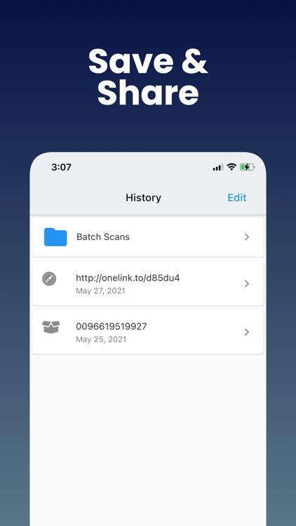 QR Code: Barcode Reader screenshot-3