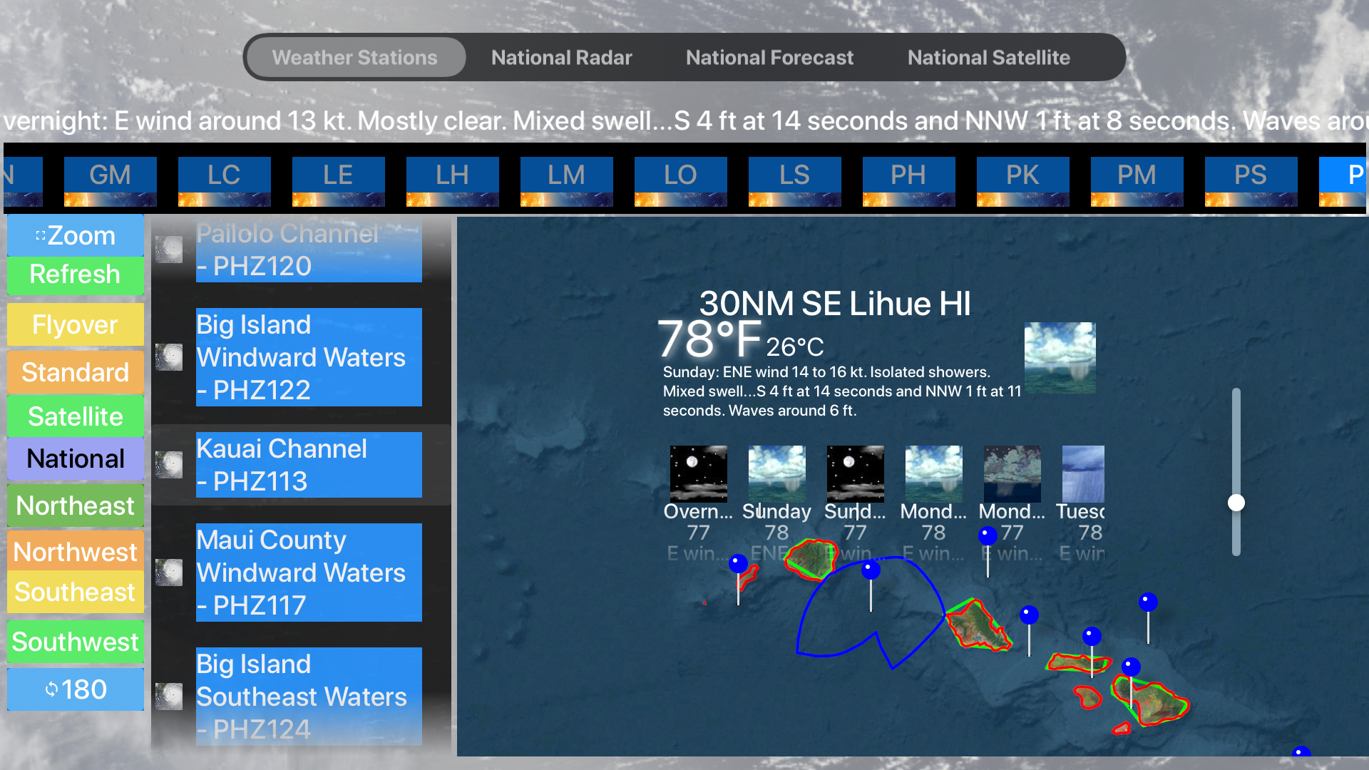 Instant Marine Forecast Pro screenshot 20