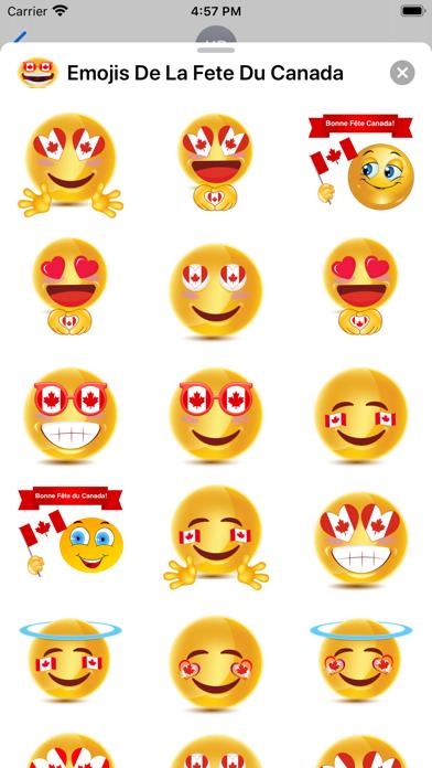 Emojis De La Fête Du Canada screenshot 4