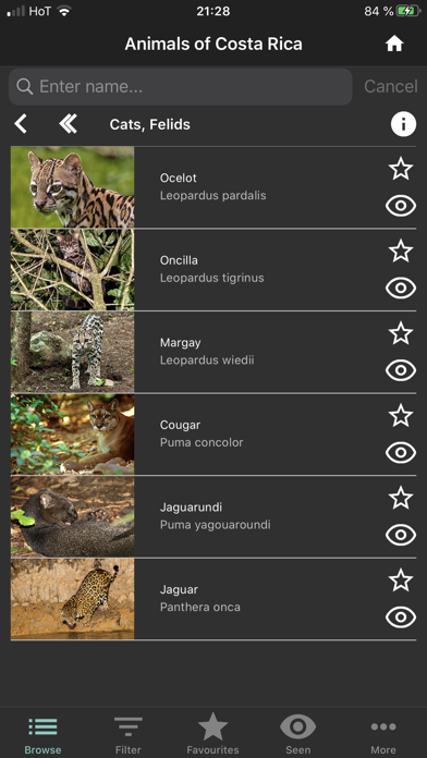 点击获取Animals of Costa Rica