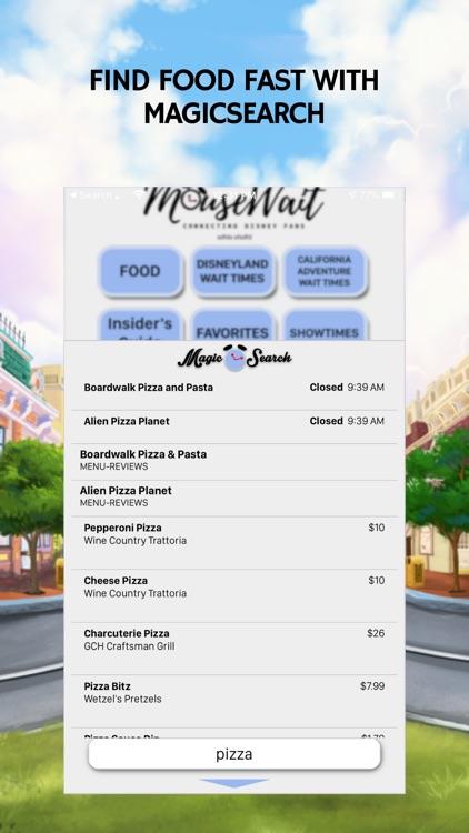 MouseWait Disneyland Lounge screenshot-4