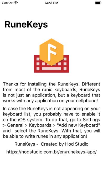 RuneKeys - Elder Futhark screenshot 2