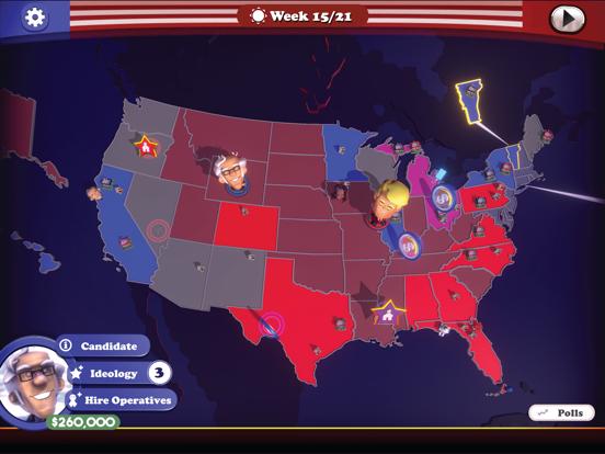 The Political Machine 2020 screenshot 10