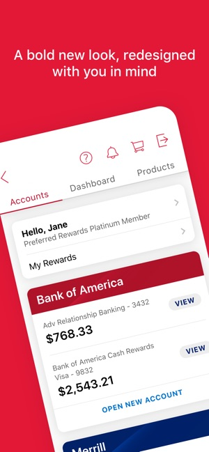 bank of america account balance toll free number