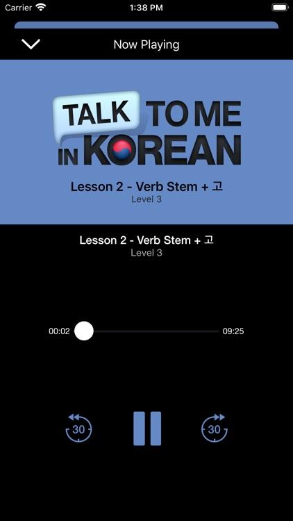 Korean - Lessons+ screenshot-4