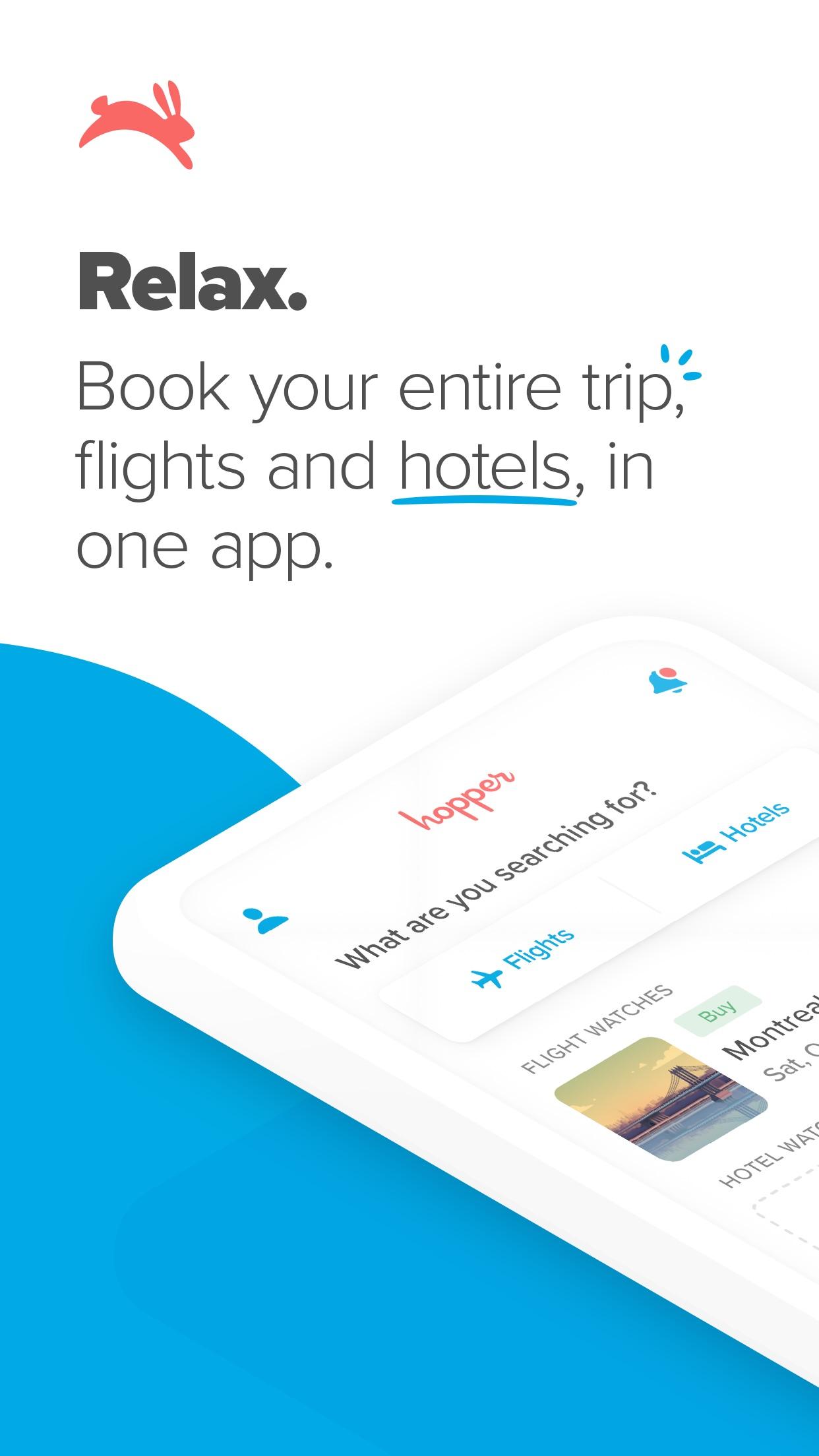 Hopper - Flight & Hotel Deals Screenshot