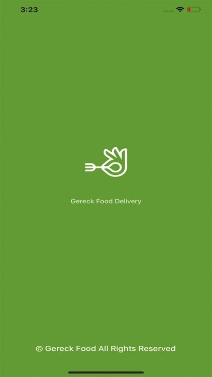 Gereck Food Delivery