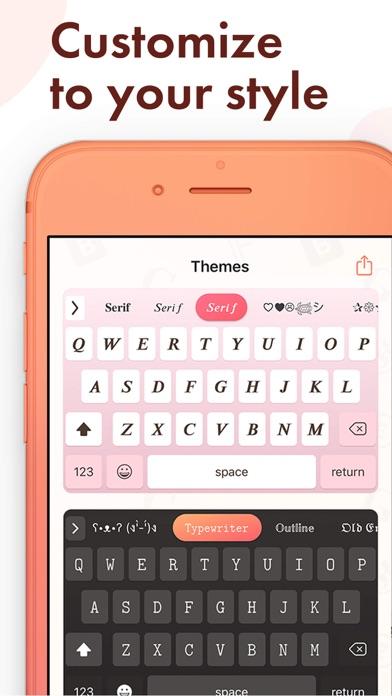 Fonts - Keyboard & Font Stylesのおすすめ画像3