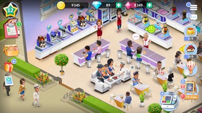 المقهى: لعبة مطعملقطة شاشة1