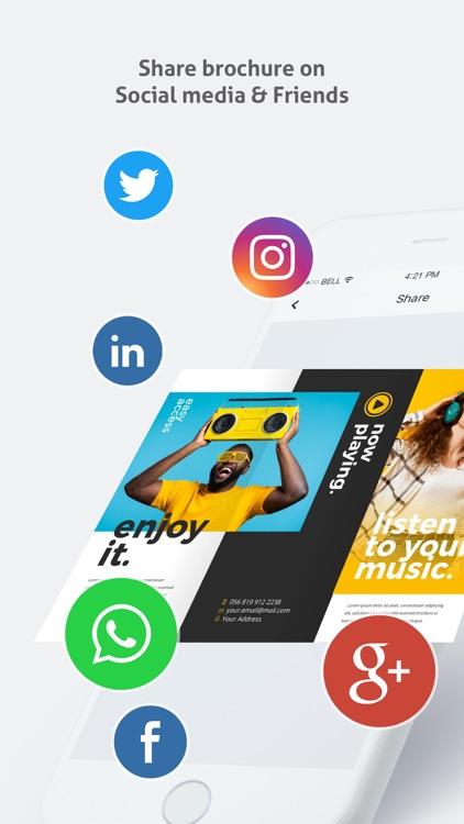 Brochure Maker - Pamphlet screenshot-7