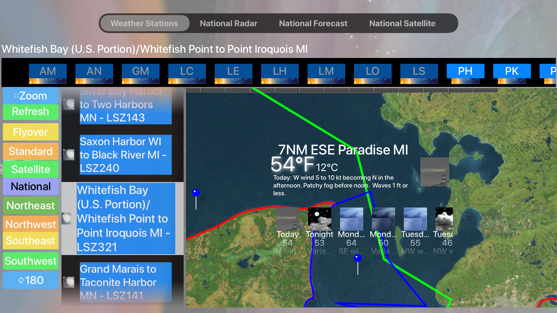 Instant Marine Forecast Pro screenshot 19