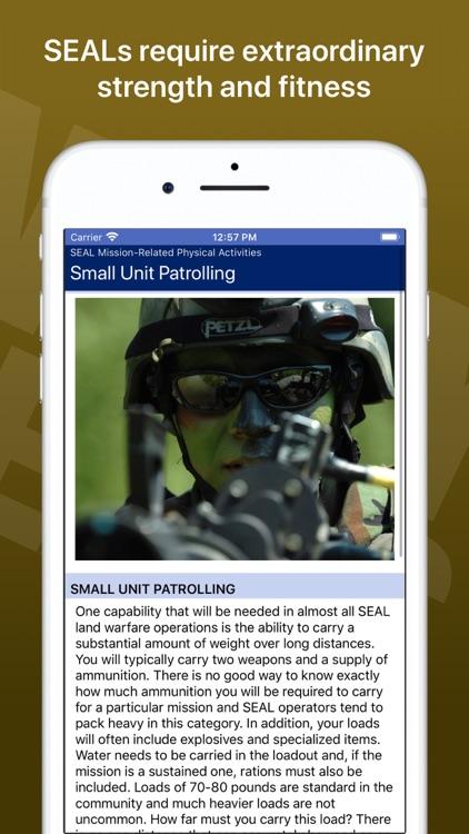 Navy SEAL Fitness
