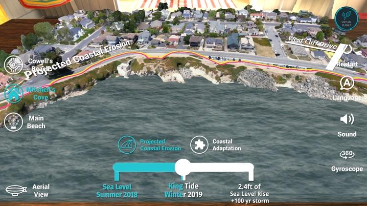 Sea Level Rise: Santa Cruz screenshot-6
