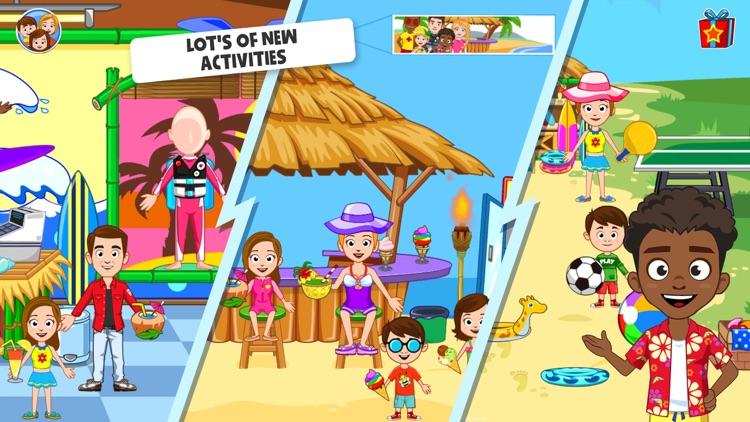 My Town : Beach Picnic screenshot-4