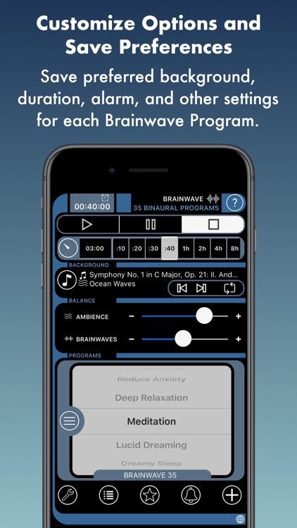 Brain Wave™ 35 Binaural Series screenshot-7