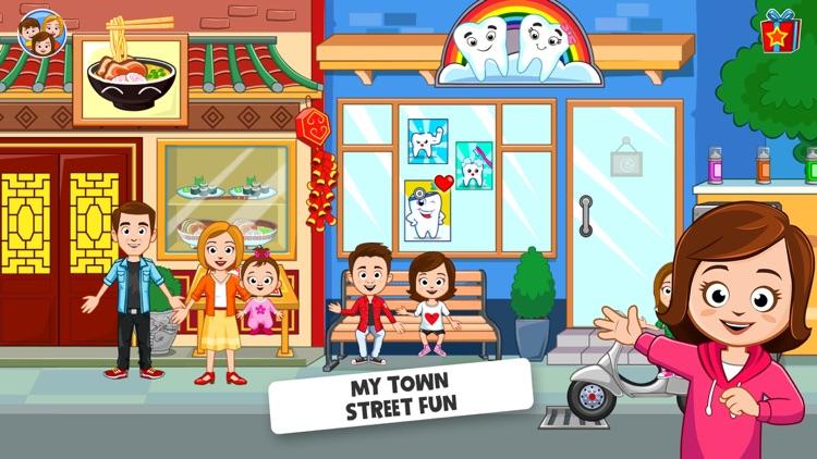 My Town : Street Fun screenshot-0