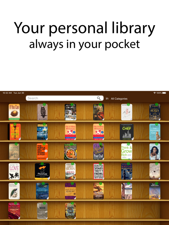 My Book List - Library Manager screenshot