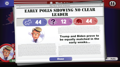 The Political Machine 2020 screenshot 6