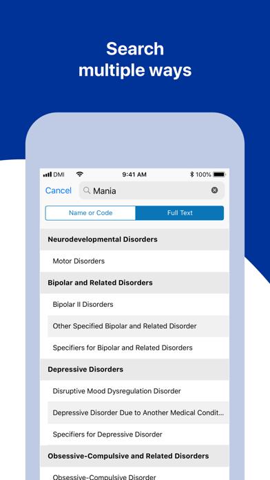 DSM-5 Diagnostic Criteria Screenshot