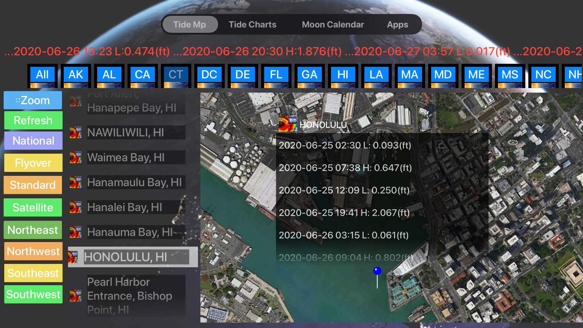 Instant NOAA Tide Lite screenshot 17