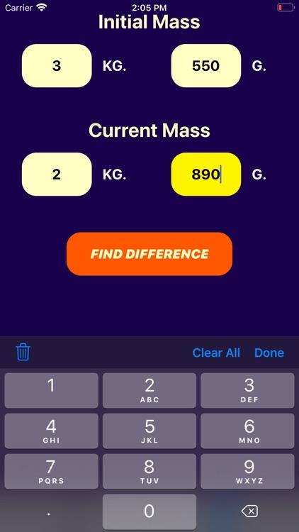 Pediac Weight Calculator screenshot-5
