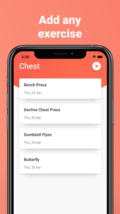 Strongify Easy Workout Tracker screenshot-5