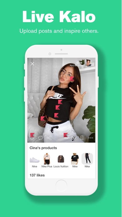 messages.download Kalo - Social Shopping software